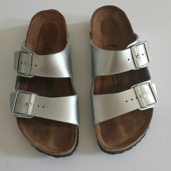 e978d8c2371 Birkenstock Shoes - Birkenstock Arizona narrow fit soft footbed sandal